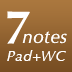 7notes Pad+WC