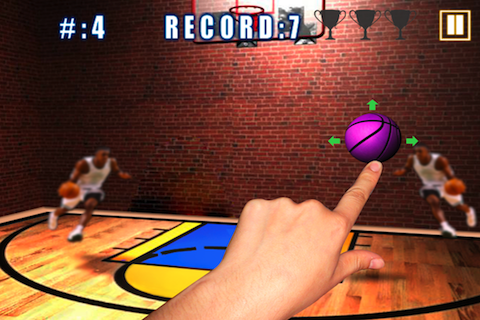 Screenshot Basketball Passes