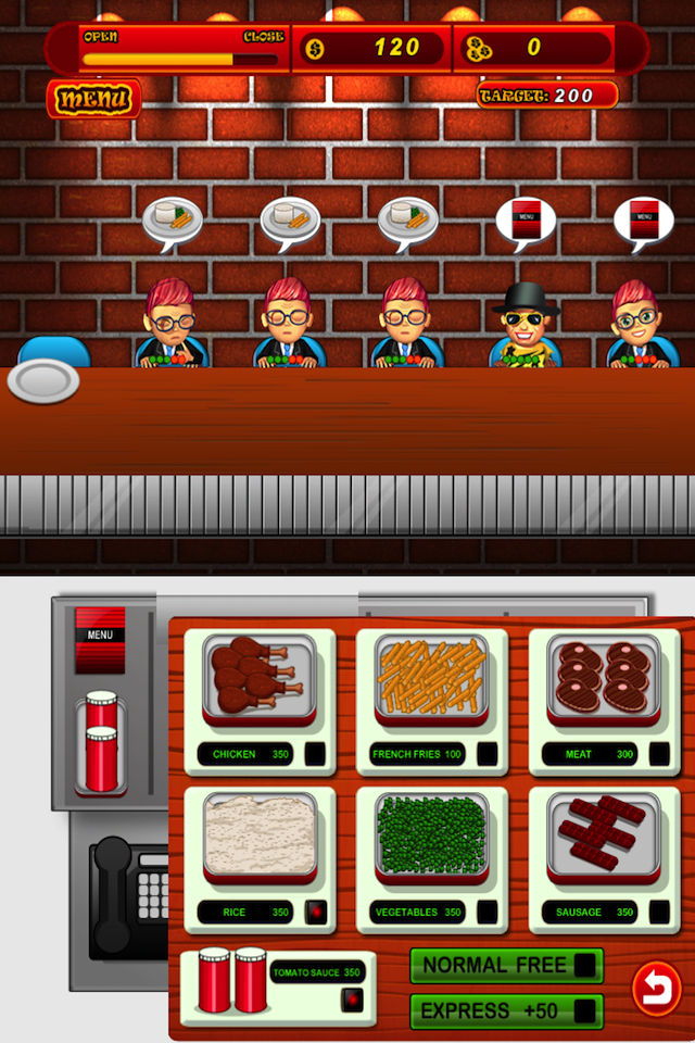 Screenshot Food Hero Madness